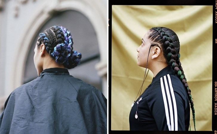 J'Adore Blu Salon braids