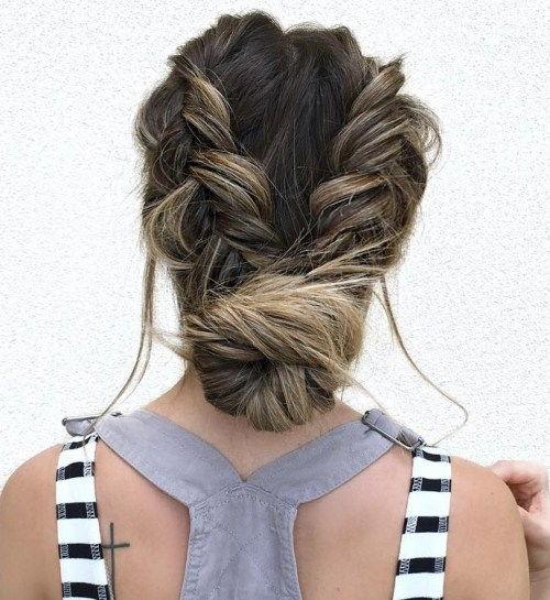 40 chic messy hochsteckfrisuren für langes haar