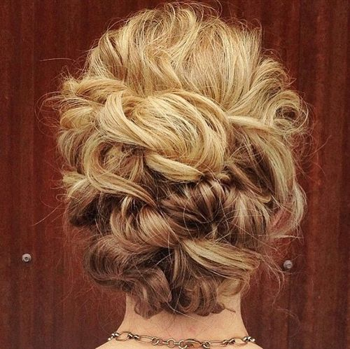 Рус curly updo