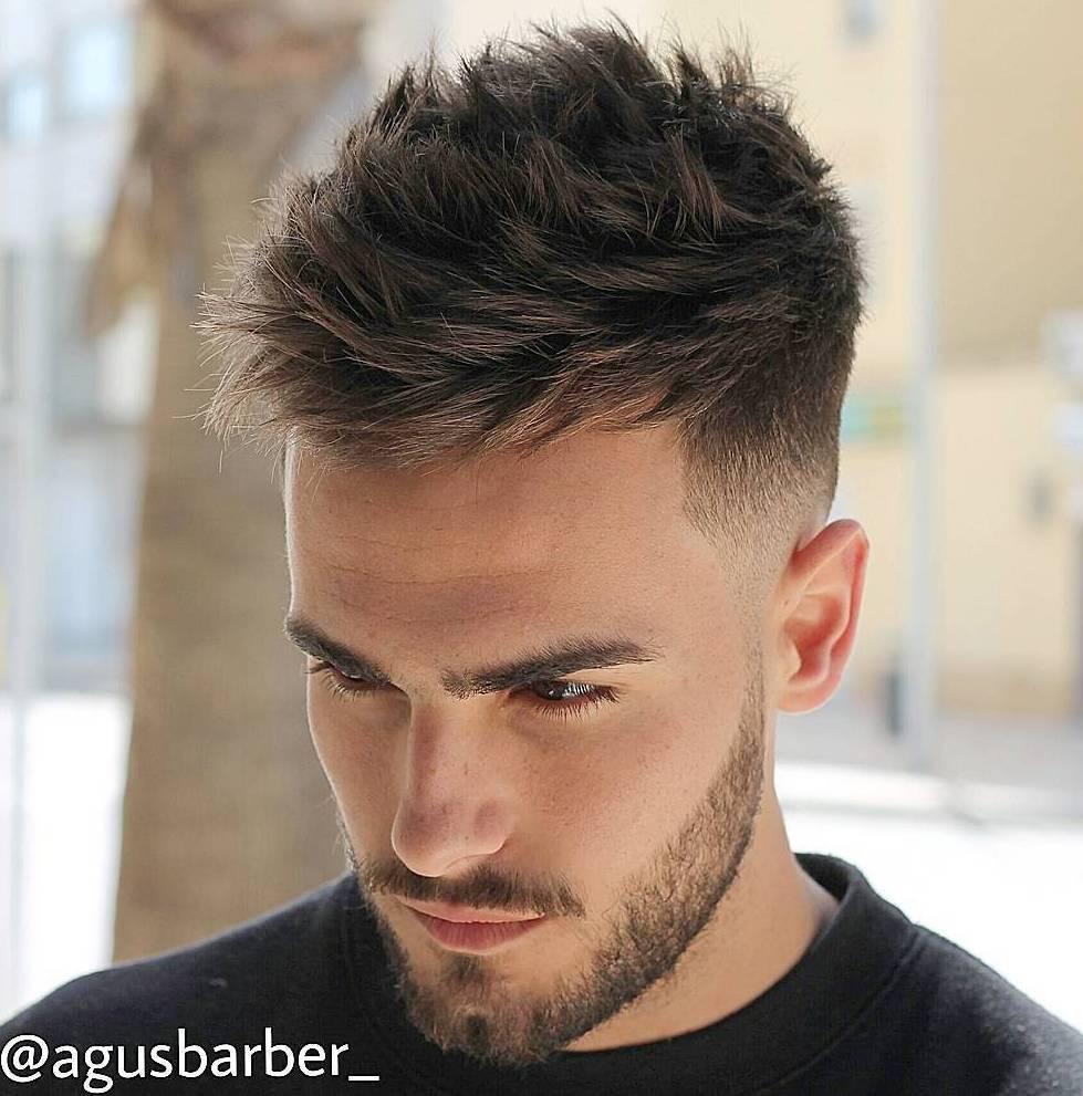 10 Statement-Frisuren für Männer mit dickem Haar