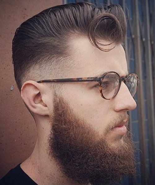 Pompadour For Thin Hair