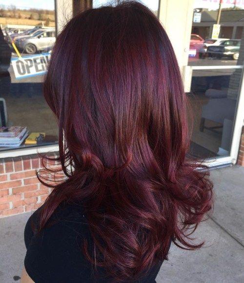 45 Shades Of Burgundy Hair Dunkle Burgunder