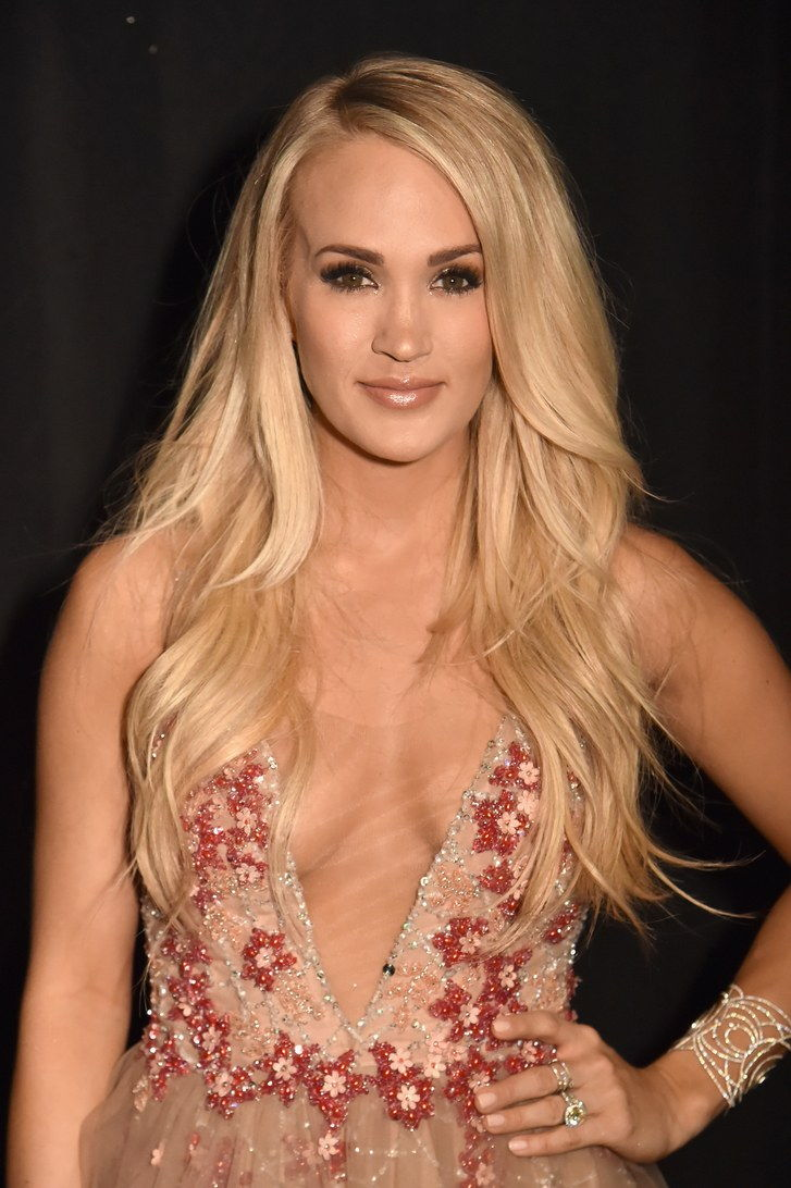 Carrie Underwood at the 2018 ACMs