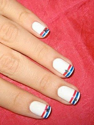 Nailene Girls's fourth of july nail art