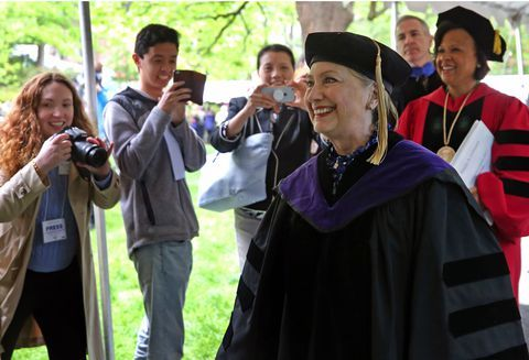 Хилъри Clinton at Wellesley